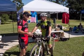 "Rusty's telling Bjarne, ""You gotta upgrade to a cross bike."""