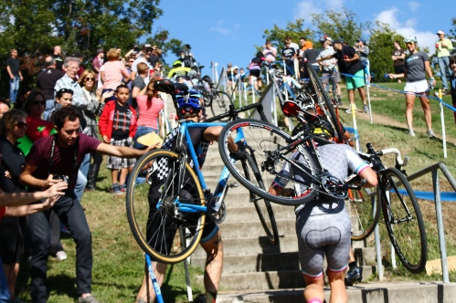 Skip and Rob ascend Mount Heckle. I think this is where Skip rolls his ankle. Photo by Doogie Roux Check out more of his photos here: http://www.rouxbikes.com/apps/blog/brcx