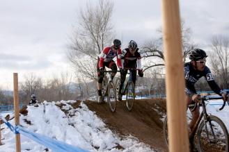 Rubbing is racing. Photo by Rob Sudan