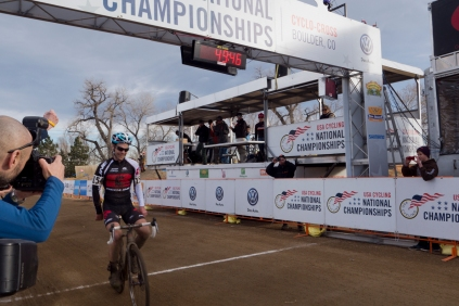 The winner of Rob's Masters 30-34 race was Justin Lindine.