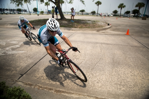 Recent cat 4 upgrade, Taco de Vries takes home the win.