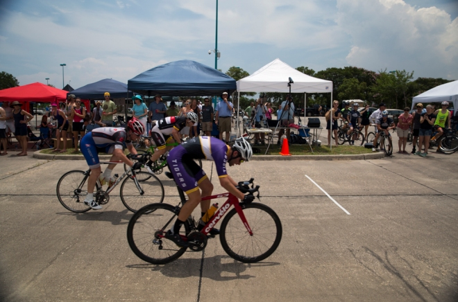 Cat 4 sprint for 2nd.