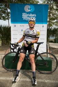 The Harbor Master Criterium's 1/2 winner, Stephen Mire.