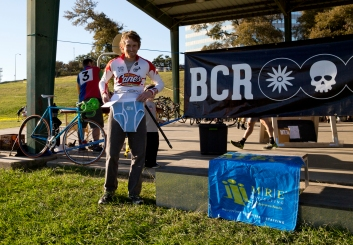 Fellow Louisianian and terror of the Delta States Grand Prix, Will Sheftall, snags himself a pair of undies in the 1/2/3 race.