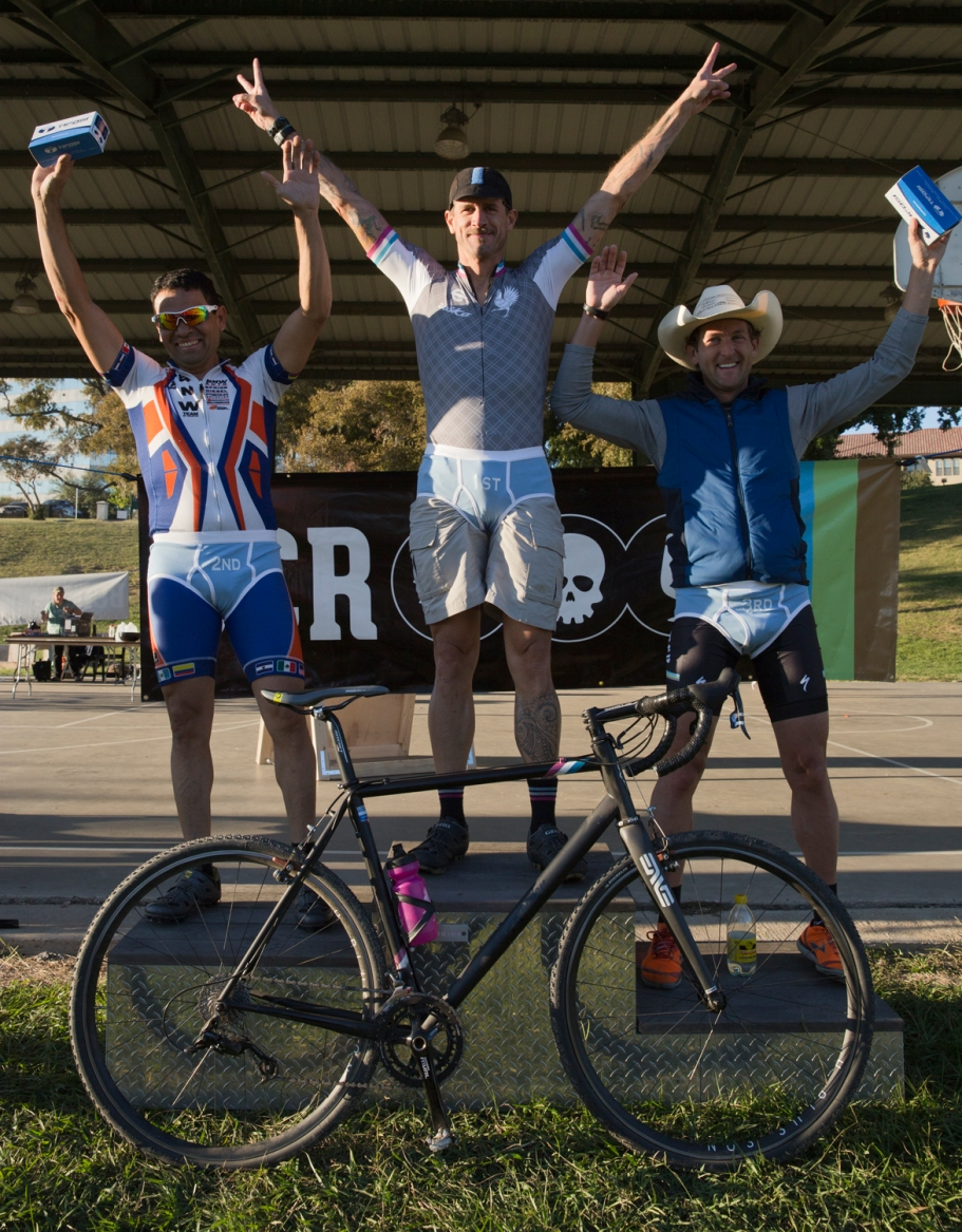 BCRCX 4/5's podium. Two years in a row Rouler Racing has put someone on these steps.