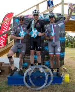 The Give Me Some Sugar CX Cat 4/5 podium, ladies and gents!
