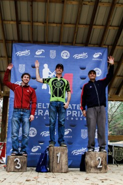 SS Podium: Robert Rutter (NOMAMBO/Eastbank), Rusty Bernard (NOLA Lending Racing), Adam Newsom.