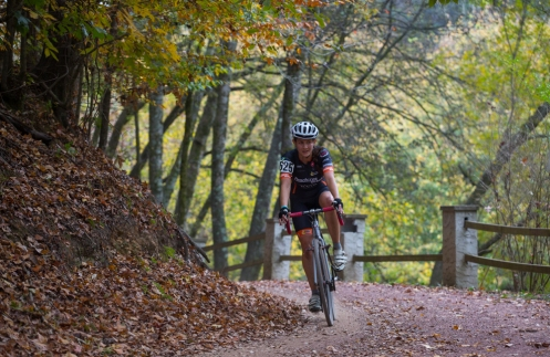 This Peachtree Bike shredder won the Women's 4 on Day 2.